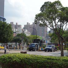 淡水老街廣場