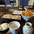 箱根駅伝のコース沿いにあるお蕎麦屋さん