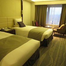 27階ツインベッドルーム