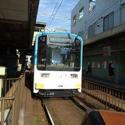 下町情緒たっぷりの阪堺電車