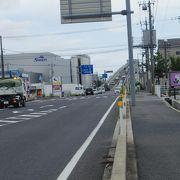 方向で違う江島大橋