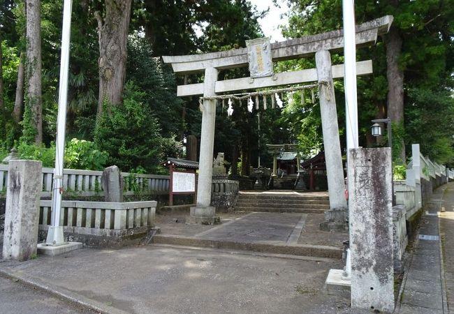 よく整備された神社