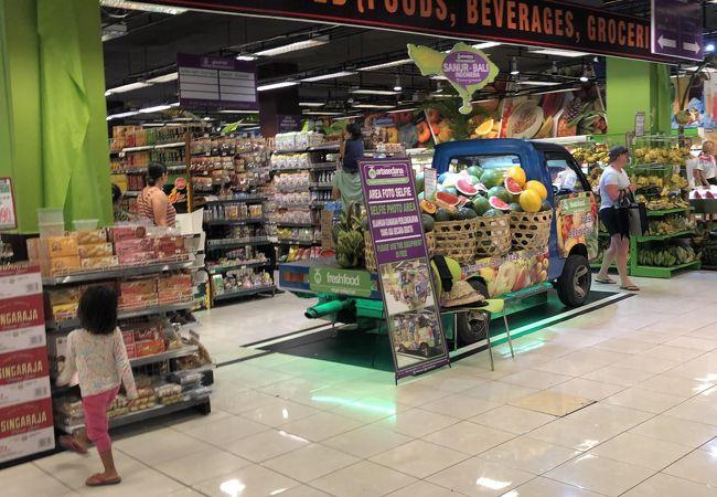 ハーディーズ スーパーマーケット (サヌール店)