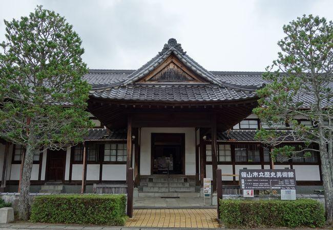 丹波篠山市立歴史美術館
