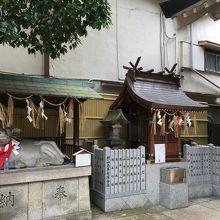 牛舎 (綱敷天神社 御本社)