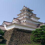 蒲生氏郷が東北地方の鎮めとして築いた城