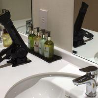 女風呂にはメイク落としや化粧水なども置いてあります。