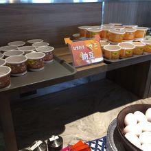 さすが茨城!納豆は2種類。
