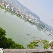 鵜飼で有名な木曽川