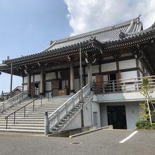 長楽寺の本堂