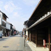 ここから1本道で犬山城へ続いています