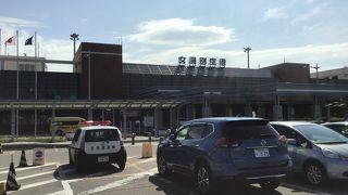 道東では便数も比較的豊富な空港。