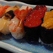 寿司はまがっていない正統派