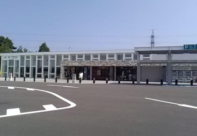 輪厚パーキングエリア(上り)