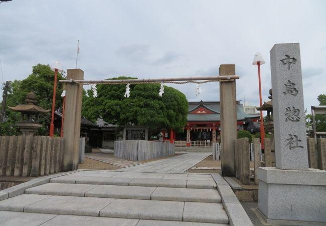 最寄り駅は崇禅寺です