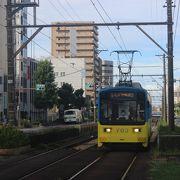 堺と大阪天王寺を結ぶ路面電車