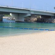 那覇のビーチ