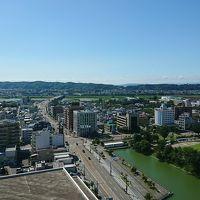 西側(呉羽山方面)の眺望