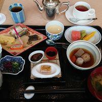 朝食は和食か洋食から選択。ブュッフェは中止中