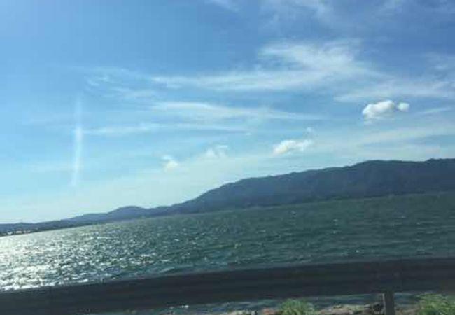 鳥取と島根の湖