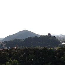 犬山城が見える