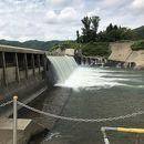 錦秋湖大滝(貯砂ダム)