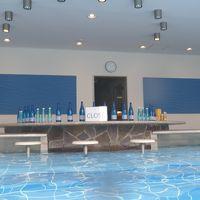 プールは10時から。プールバーの開店は10時半でした。