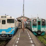ほとんどが徳島駅まで直通