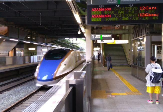 添付写真と同じモデルの新幹線車両が、沢山浸水