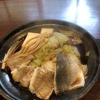 鍋の白身魚も煮えました♪