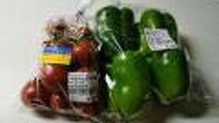 そらいちマーケットで産直野菜を