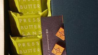 京都限定のバターサンド