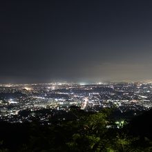 湘南平と言えば夜景が有名