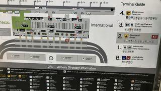 スワンナプーム国際空港入国