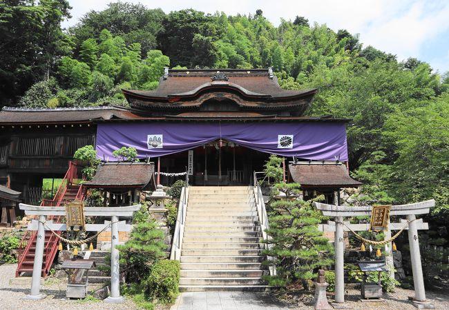都久夫須麻神社本殿