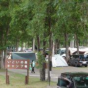 SLも大活躍なキャンプ場