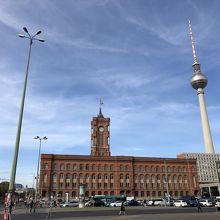 ベルリン市庁舎 (赤の市庁舎)