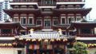 新加坡佛牙寺龍華院横の通り