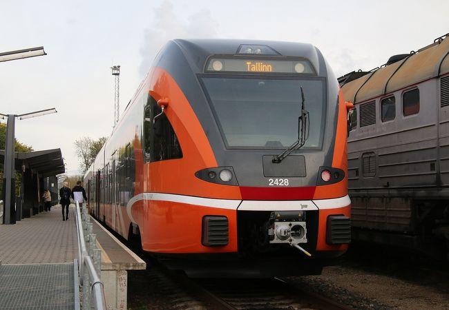 利便性はバスには劣りますが、鉄道の旅も楽しいものです。