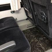 USBもついているバス