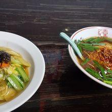 中華飯と台湾ラーメン