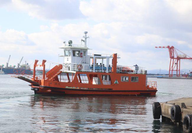 富山県営渡船 (越ノ潟フェリー)