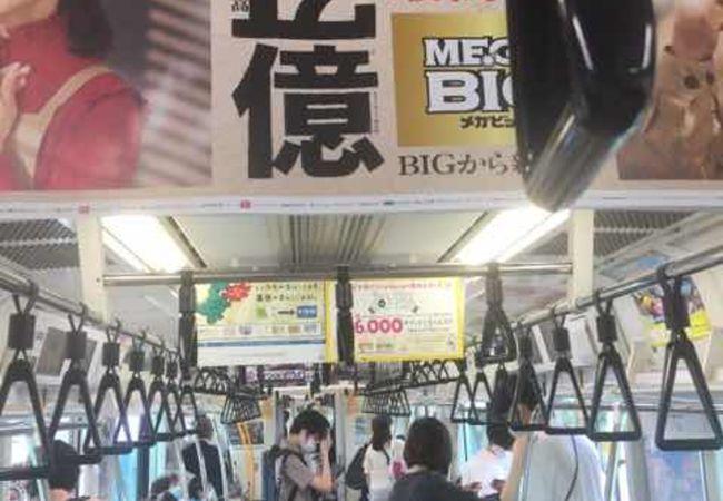 横浜と大船を結ぶ路線