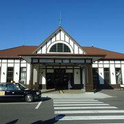 新しくなった立派な駅舎