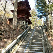 榛名神社 神宝殿 (三重塔)