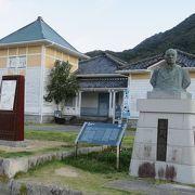 三角に港を築いたときの熊本県知事