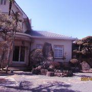 登録有形文化財に指定された別荘