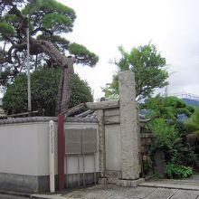 長安寺山門