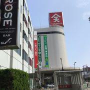 福山駅前にあるデパート