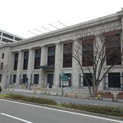 昭和10年竣工の、旧横浜正金銀行の建物です